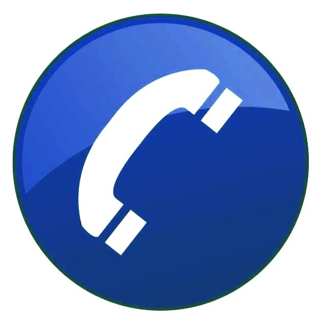Contact Icon: The Gallery For --> Telephone Icon