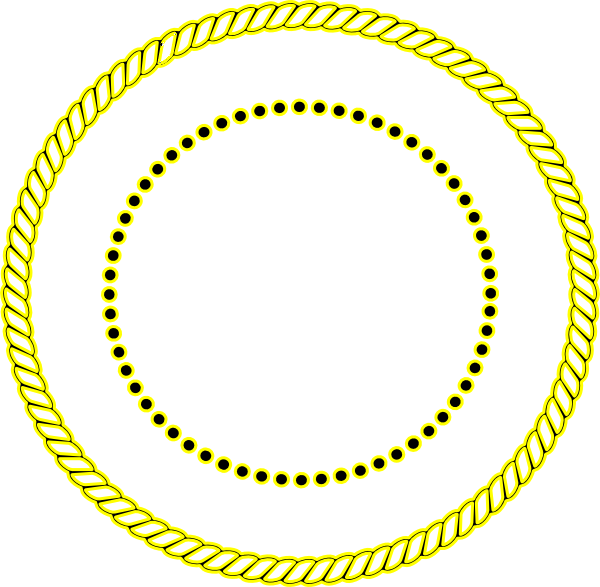 clipart rope border circle - photo #15