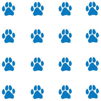 Blue Paw Print Temporary Tattoo Clipart Best Clipart Best