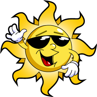 Cartoon Sun Rays - ClipArt Best
