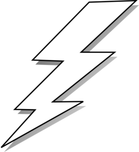 Zeus Lightning Bolt Logo