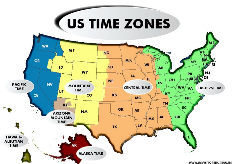 Handy image with regard to printable us time zone map