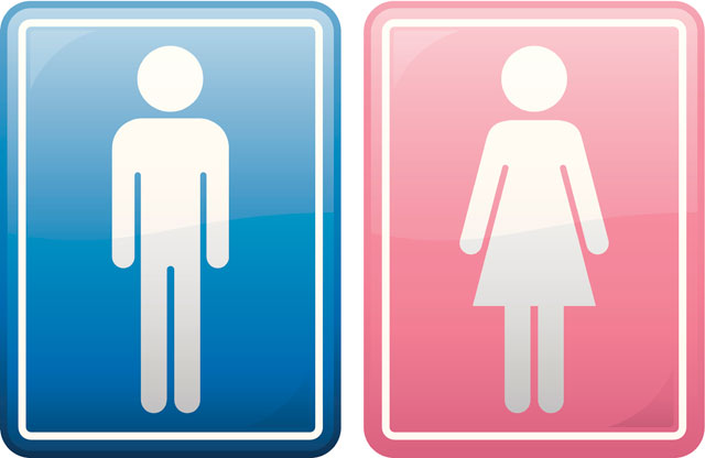 Girl And Boy Toilet Signs Clipart Best