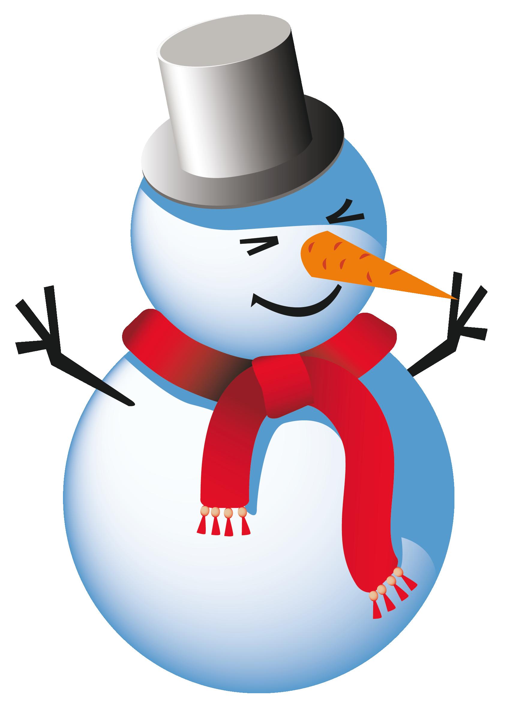 free vector clipart snowman - photo #26