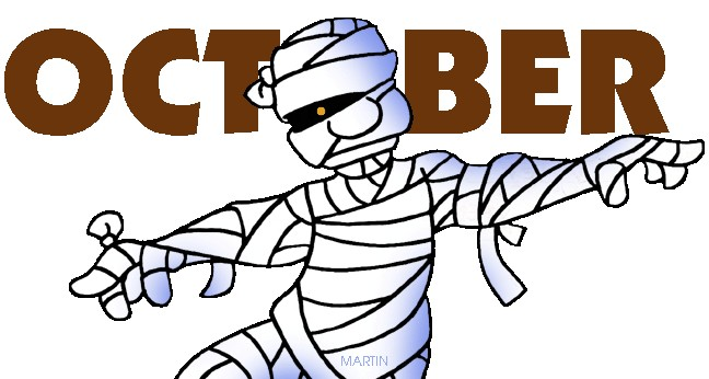 October Calendar Clipart : Free october clip art clipart best