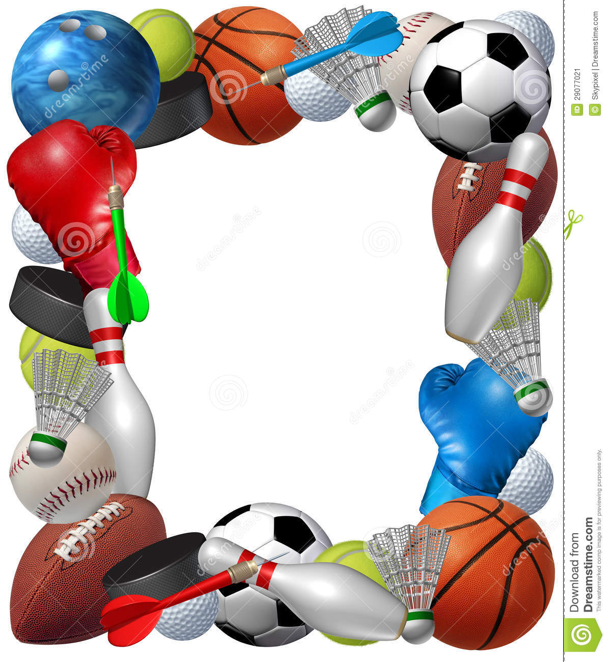Baseball page border clipart best - Sports Page Borders Clipart Best