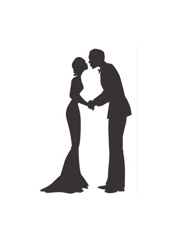 free wedding silhouette clip art - photo #25