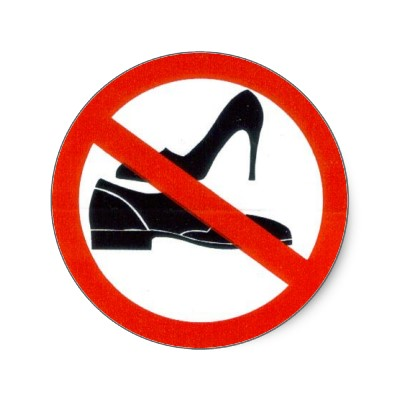 photo about Please Take Off Your Shoes Sign Printable titled Just take Off Footwear Brand - ClipArt Simplest