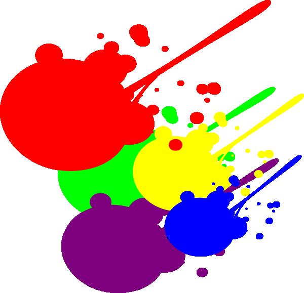 Red Paint Splatter Clipart Best
