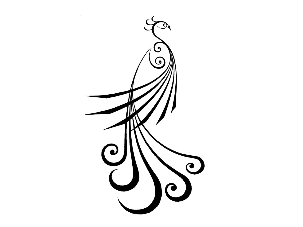 Simple Clip Art Line : Simple tattoo sketches clipart best