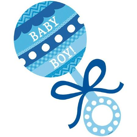 Baby Rattle Boy - ClipArt Best