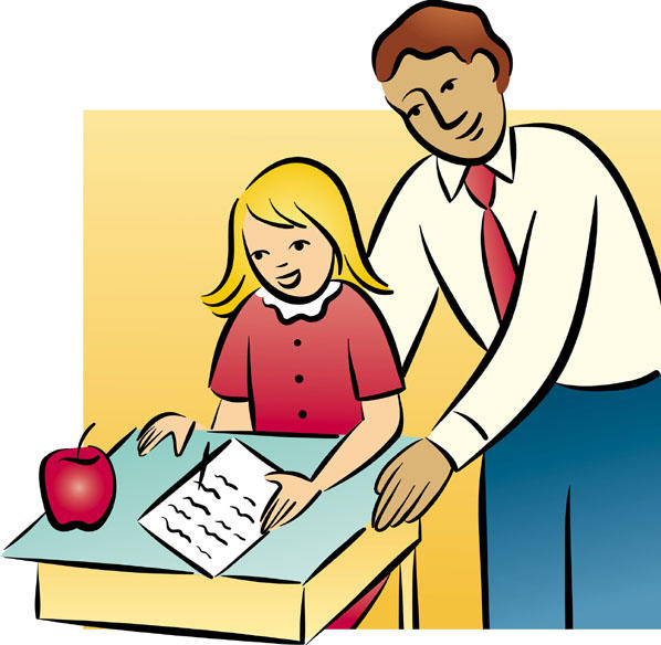 pictures of teachers with students clipart best