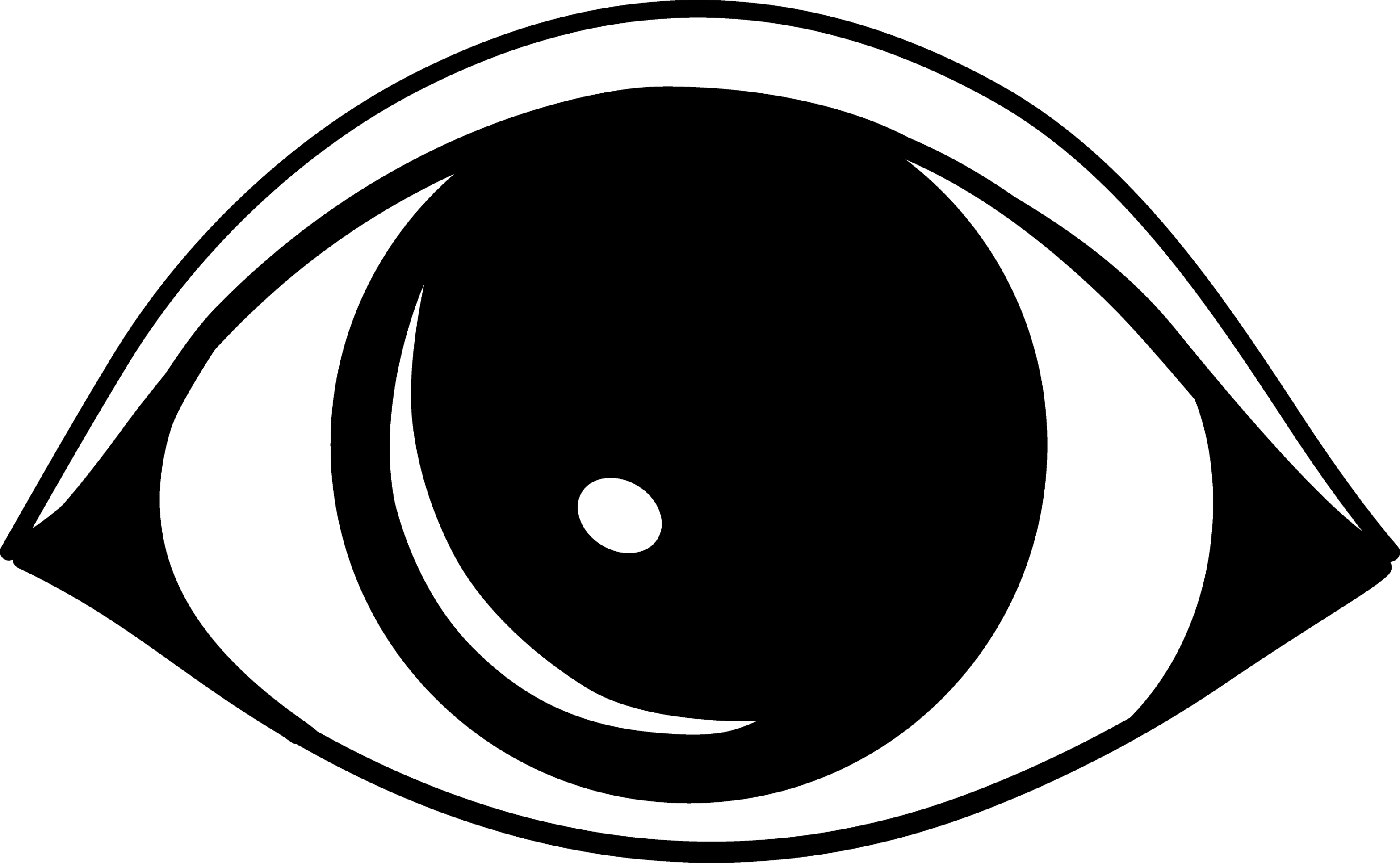 Eyes Cartoon Black And White - ClipArt Best
