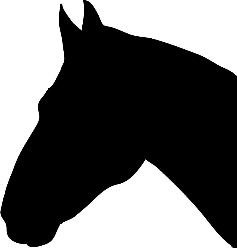 Horse Head Silhouette Horse Silhouette