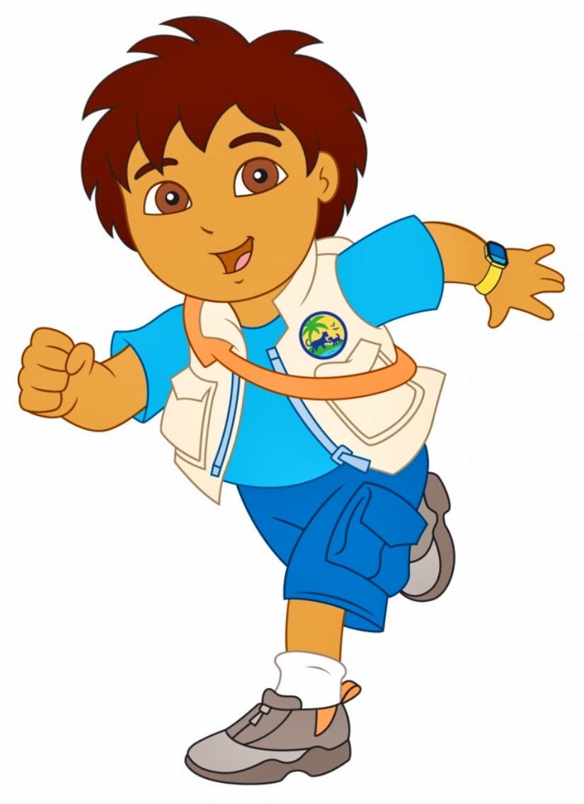 E Learning Cartoon Characters : Diego go cartoon clipart best