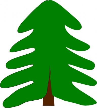 Plant Tree Cartoon clip art Vector clip art - Free vector for free ... Oak Tree Clip Art