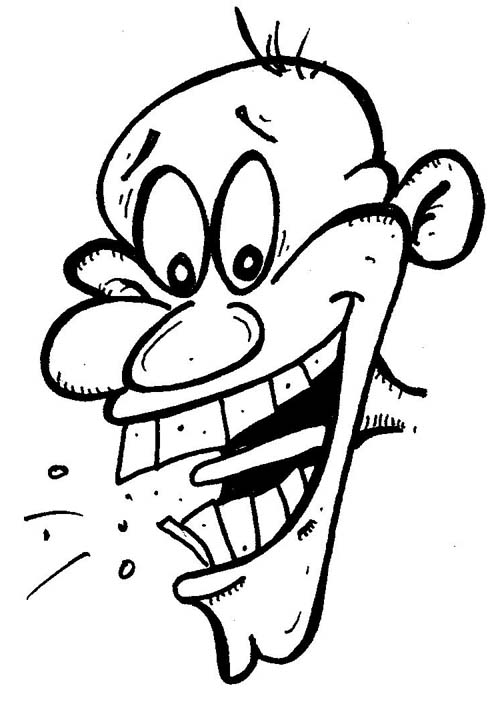 Funny Laughing Face Cartoon - ClipArt Best
