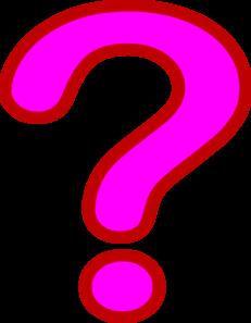 Pink Question Mark - ClipArt Best