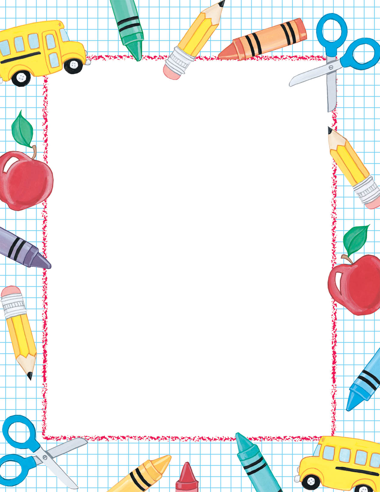 free clip art borders school - photo #13