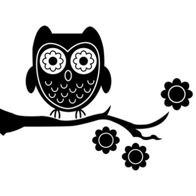 Silhouette Of Screech Owl Clipart Best
