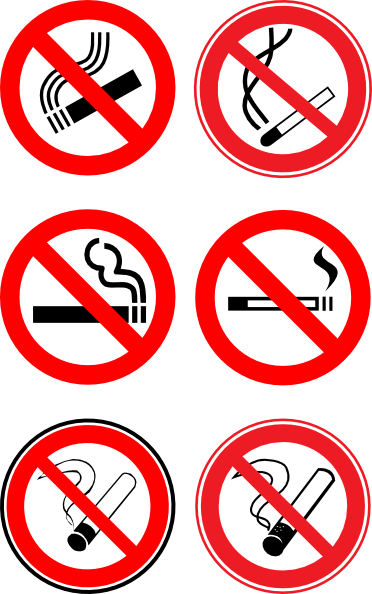 Logo Of No Smoking Sign - ClipArt Best