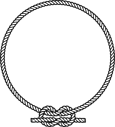 clipart rope border circle - photo #11
