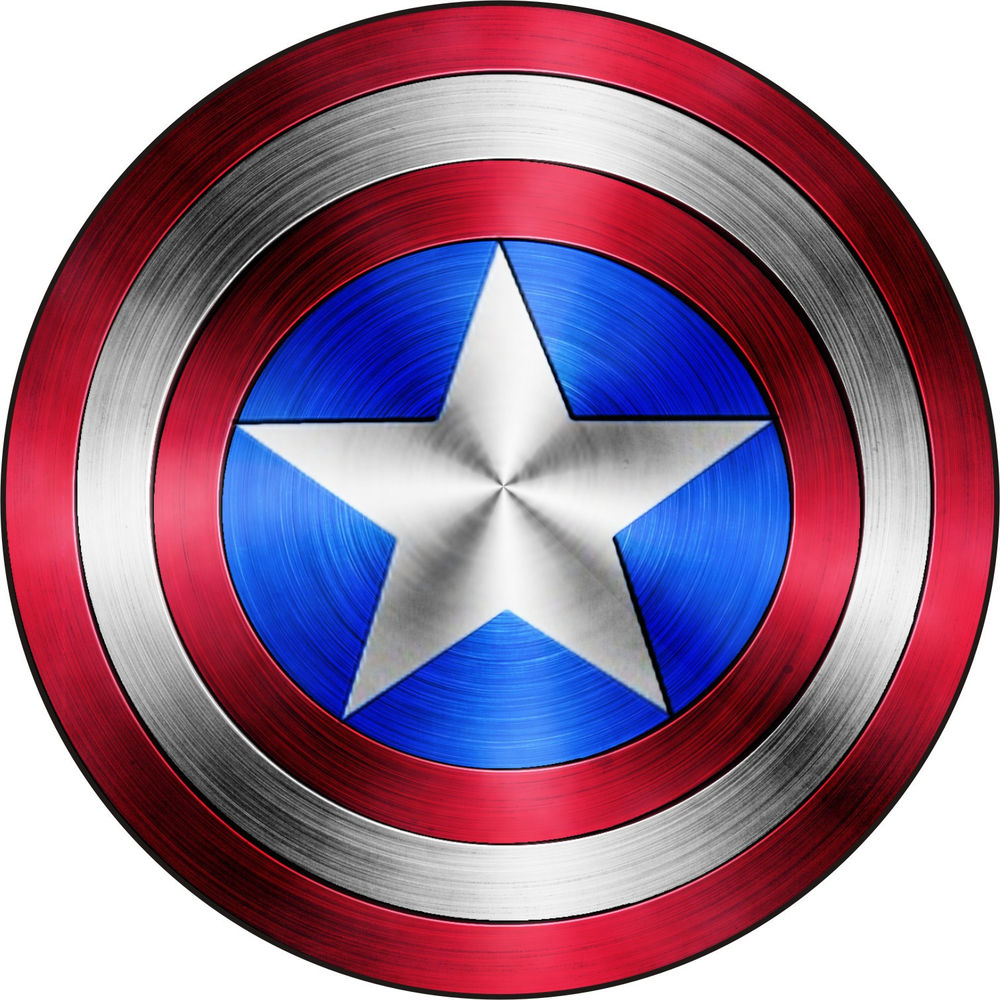 Captain America Emblem - ClipArt Best