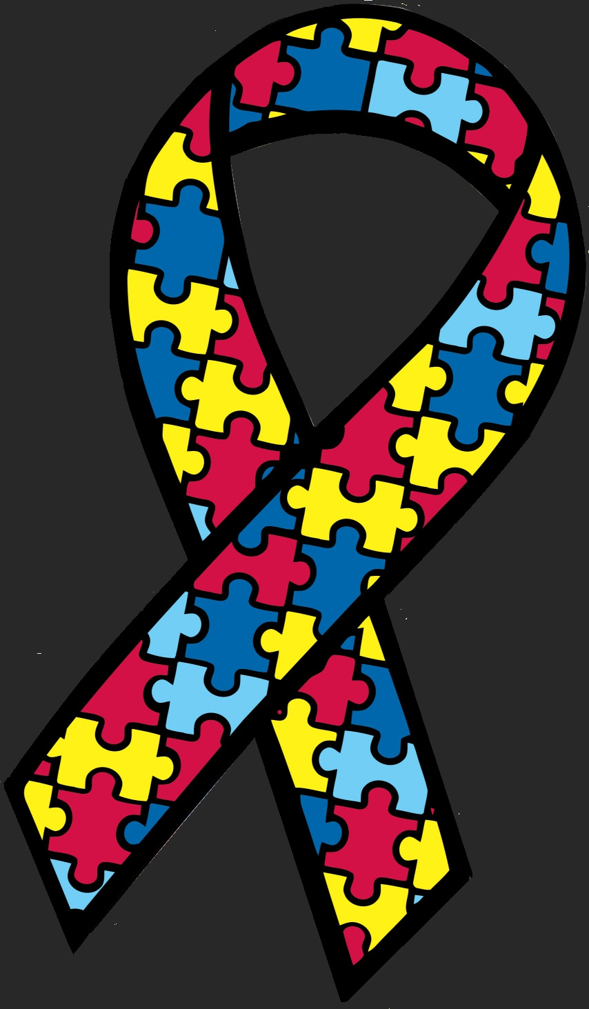Autism Awareness Symbol Black And White - ClipArt Best