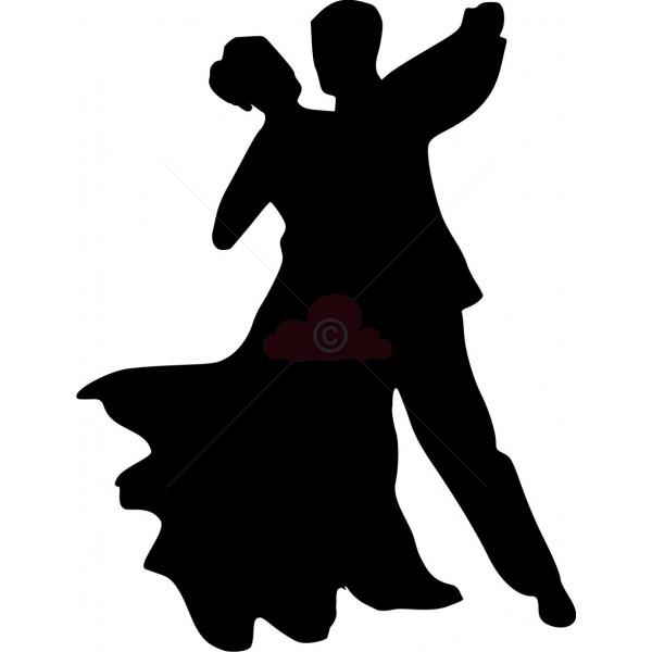 Ballroom Dancer Silhouette Clipart Best