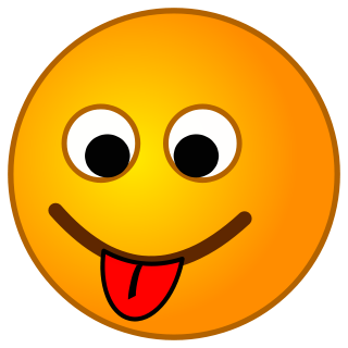 Smiley Tongue Out Clipart