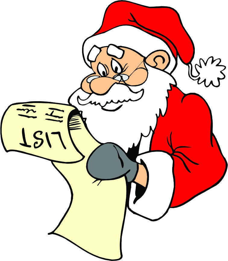 Cartoon Pics Of Santa - ClipArt Best