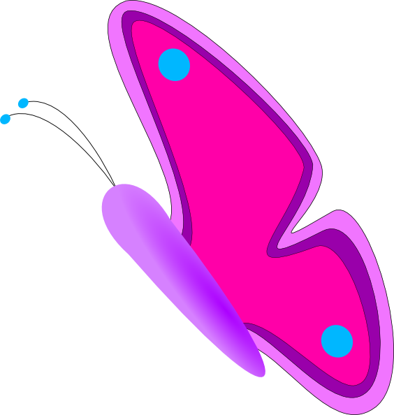 animated butterfly clipart free - photo #20