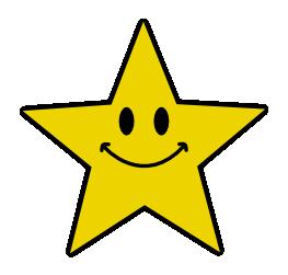 happy star clip art - photo #29