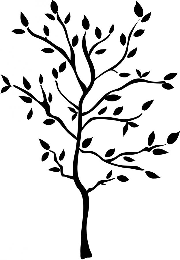 Gallery For gt Simple Tree Silhouette Clip Art