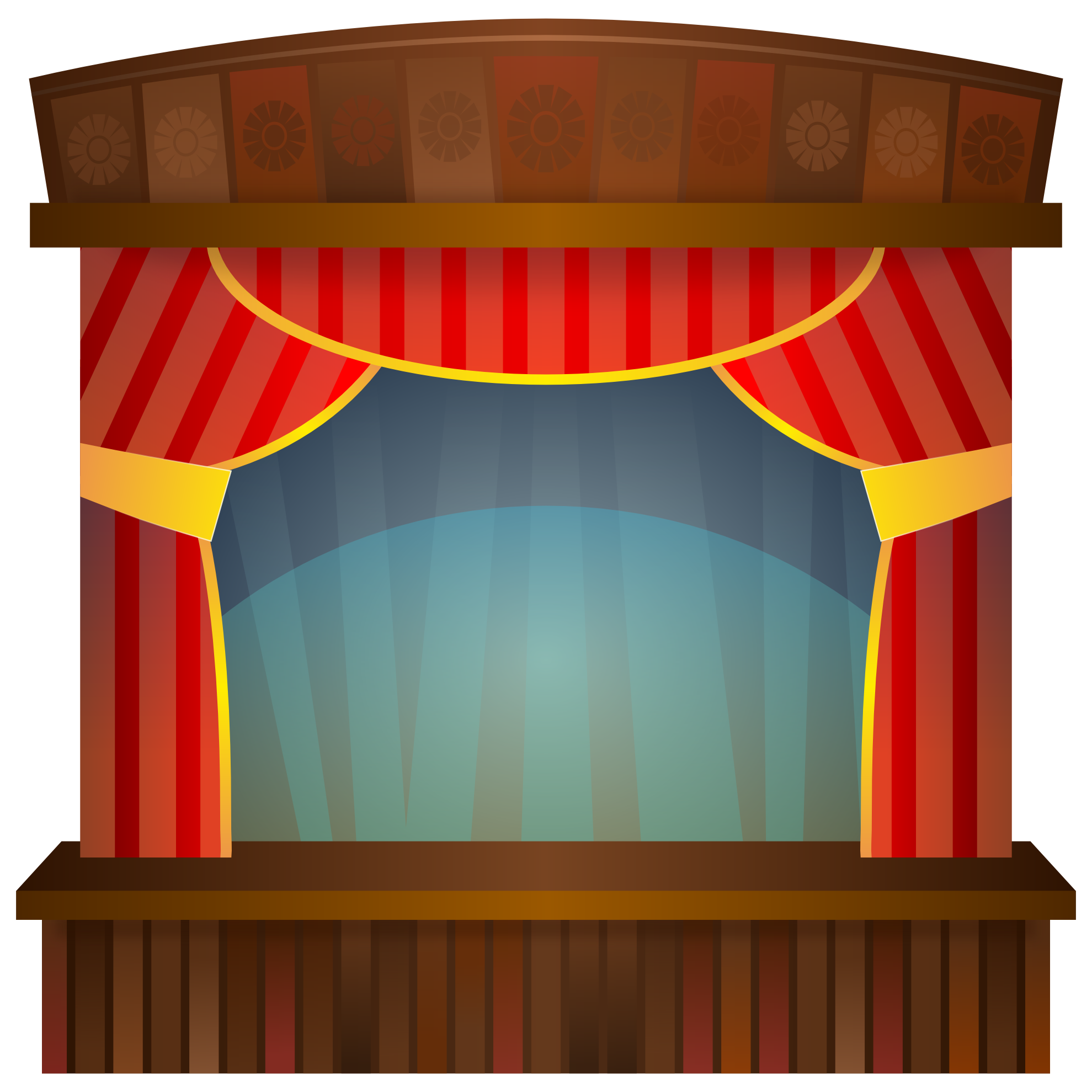 Theater Stage Curtain Clip Art | Courseimage