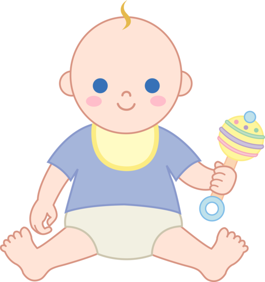 Free Clipart Of Baby Boy