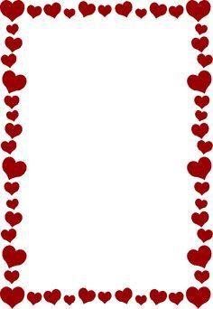 Love Heart Border - ClipArt Best