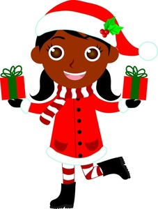 African American Christmas Images Clipart Best