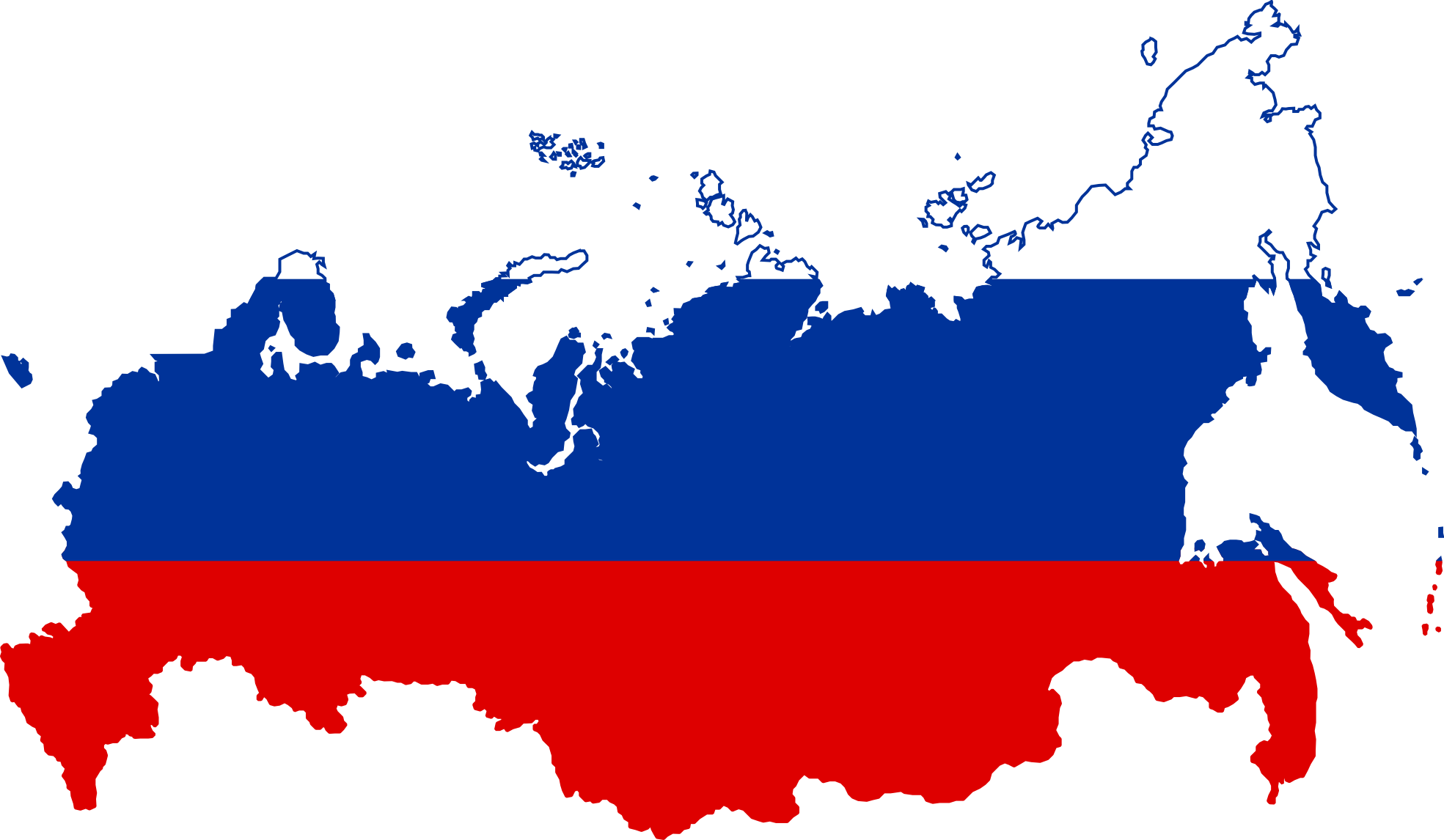 Russia Map 2011 Map of Russia Flags 2011