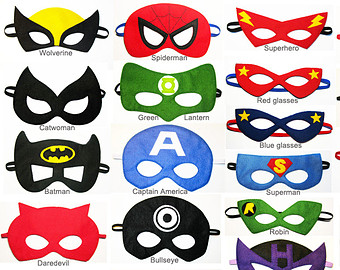 Printable Masks Superhero ClipArt Best