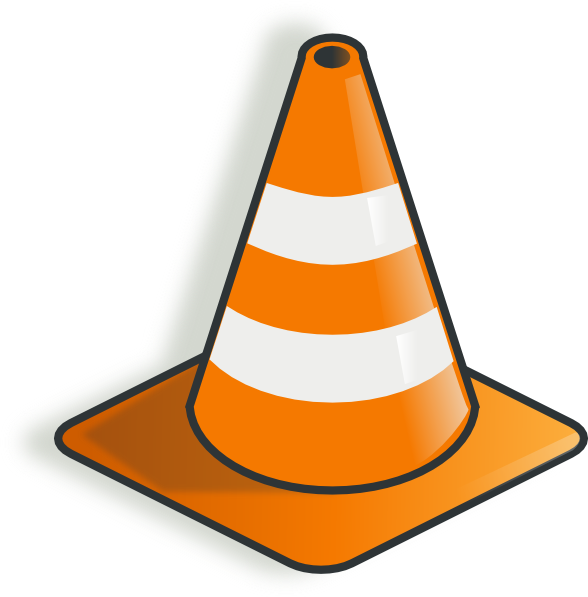 10 caution cone free cliparts that you can download to you computer ...