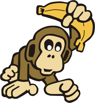 10 picture of monkey with banana . Free cliparts that you can download ...