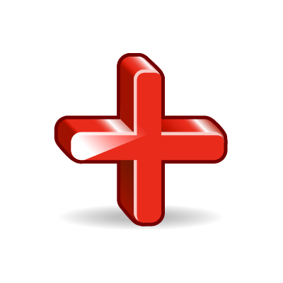red plus sign clipart best