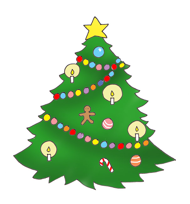 Go Back > Gallery For > Cute Christmas Tree Clipart
