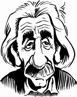 Albert Einstein Cartoon - ClipArt Best