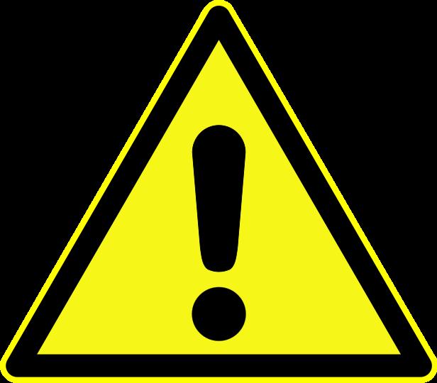 Image result for warning symbol