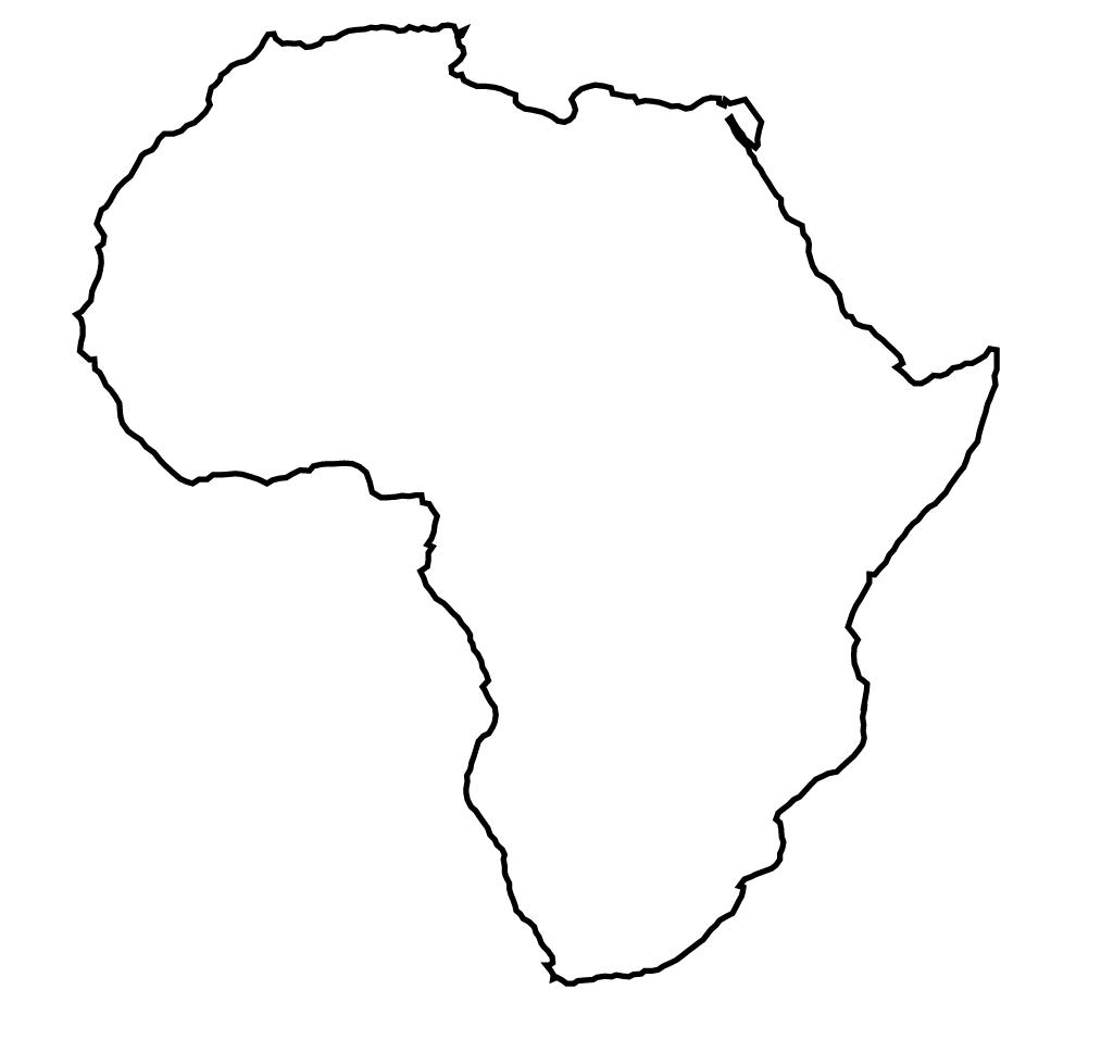 Map Of Africa Empty.Map Blank Africa Maps