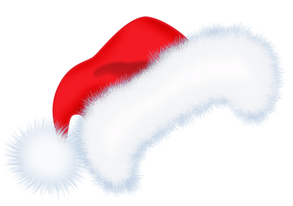 santa hat clipart with transparent background - photo #4