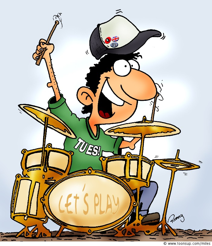 Cartoon Drummer - ClipArt Best