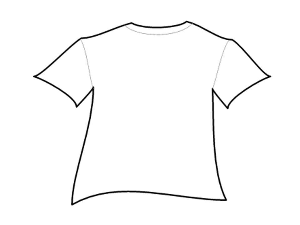 T Shirt Outlines Clipart Best